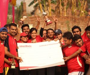Mascot Muncher- First runners Up (was awarded a cheque of Rs 5000/- and a runners up trophy)