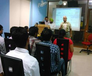 Personality development training by Brig. D.C. Misra