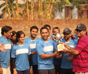 Century Hitters- The winning team (was awarded a cheque of Rs. 10000/- along with the SPL winning trophy)