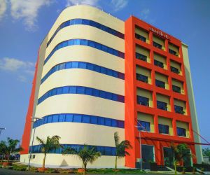 Fuji Tower- Fuji Tower was the first Green rated building in Nagpur where the energy conservation techniques LED lighting, rain water harvesting, battery powered by solar and wind energies and variable floor air conditioning were implemented in the design and construction phases.