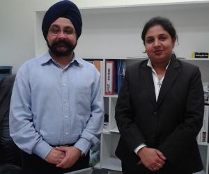 Sonia visited Australia to meet clients.