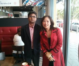 Rohit Verma visited Australia to meet clients.