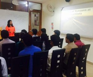 How to be sucess- session by Anuradha Chawla