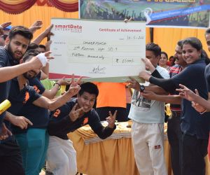 smartForce- Second Runners up (was awarded a cheque of Rs. 15000/-)
