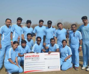 Triumphers – First runners Up (was awarded a cheque of Rs 21000/- and a runners up trophy)
