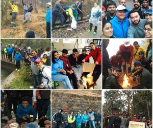 Trek @Kasauli- We climbed up hills of Kasauli with 40 smartians. Everyone enjoyed bonfire, fun games, tasty snacks and of course the rain on hills. The event was full of fun and frolic.