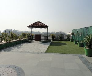 Shivalik Tower- Terrace area.